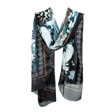 Load image into Gallery viewer, Diaphanous Silk Scarf