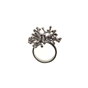 Delicate Coral Ring