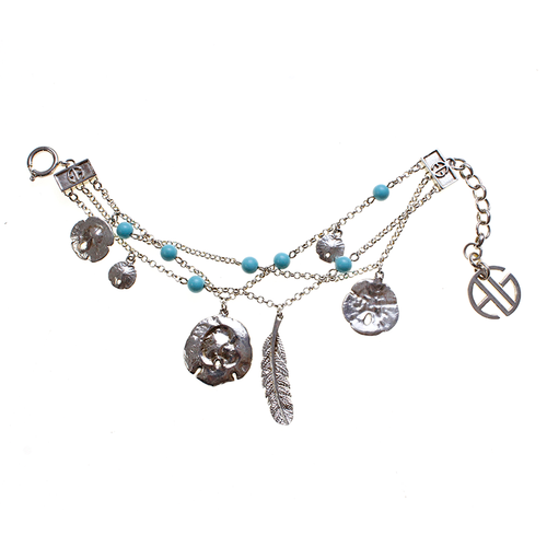Beach Trail Charms Bracelet