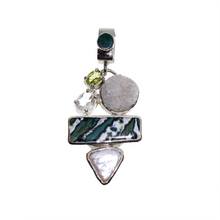 Load image into Gallery viewer, Zebra Jasper Pendant