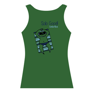 Sloth   Bamboo Tank Top