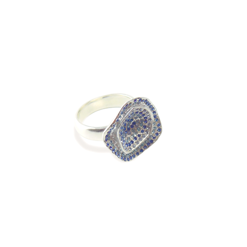 Glamorous Water Lilly Pavé Ring