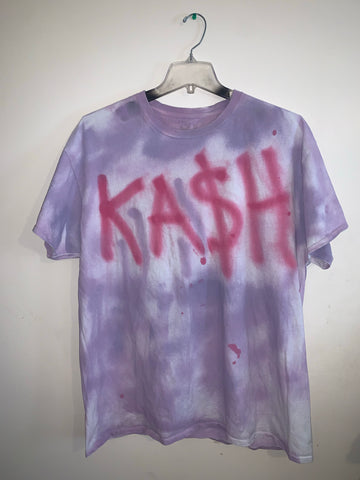 Purple / Pink KASH PLUR T-Shirt |