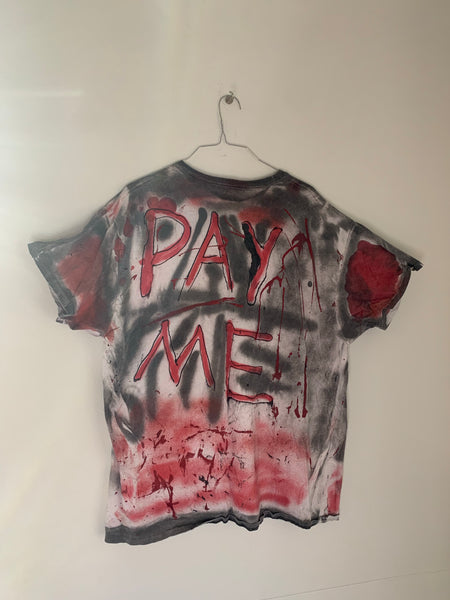 PAY ME MONEY RED / BLACK T-Shirt