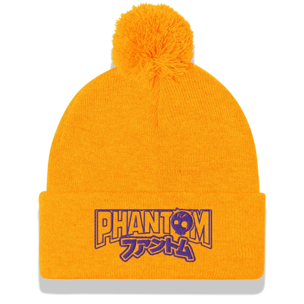 SoCal Grifter - Purple and Gold, Signature Beanie - Phantom Tees®