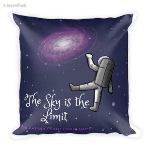 The Sky is the Limit Square Pillow
