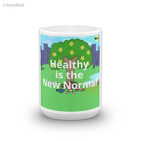 'Healthy is the New Normal' Mug