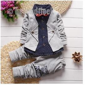 2018 New Gents Suit Grey 12M to 4T
