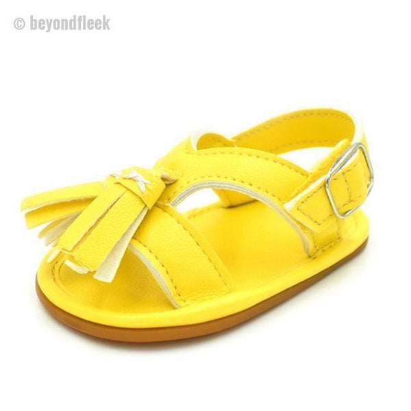 2018 Hot Tassel Pu Leather Baby Sandals (Newborn to 18 Months)