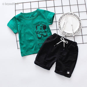 2018 Boys Short Set (9 Month to 4T)