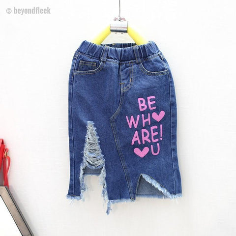 Be Who You Are Denim Skirt