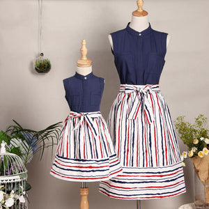 New Arrival Mommy and Me Skirt Set