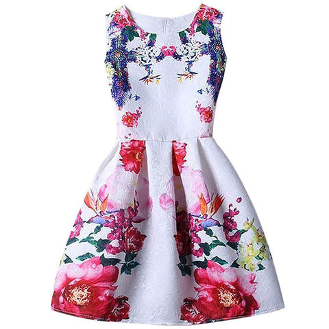 India Garden Girls Dress  Size 6 to 12 Year