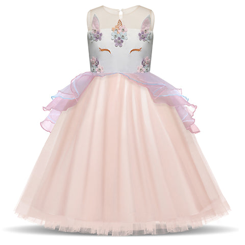 New Arrival Embroidery Party Tulle Dresses.  3 to 8 Years Old