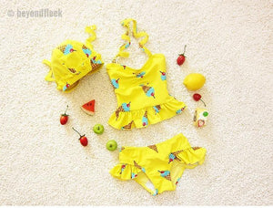 2018 New Arrival Kids Two Piece Bikini Set