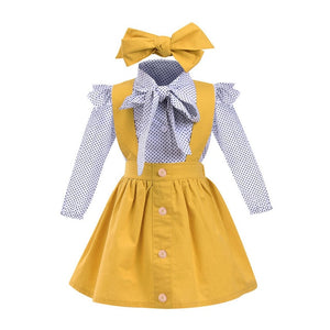 Melissa 3Pcs Toddler Girls Outfits   (12 months to 6 years)
