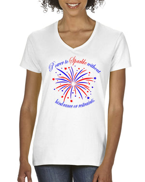 4th of July Patriotic - White T-Shirt