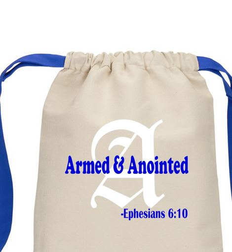 Armed and Anointed Backpack
