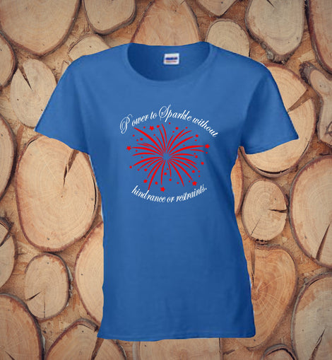 4th of July Patriotic - Blue T-Shirt