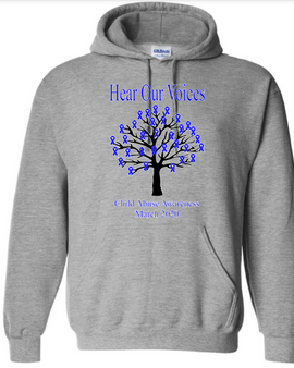 Child Abuse Awareness Hoodie