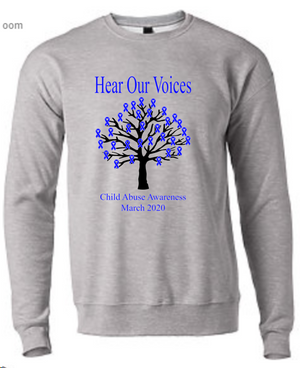 Child Abuse Awareness Sweatshirt
