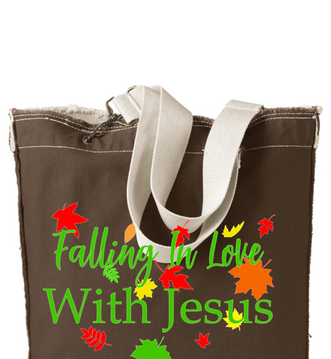 Falling in Love With Jesus Tote
