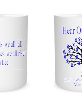 Child Abuse Awareness Mugs