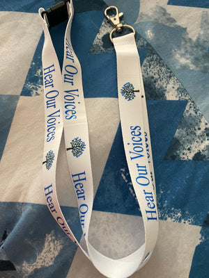 Child Abuse Awareness Lanyard