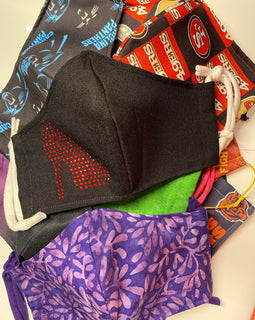Face Cover Mask (Various Colors and Patterns)