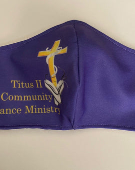 Titus II Community Dance Ministry Mask