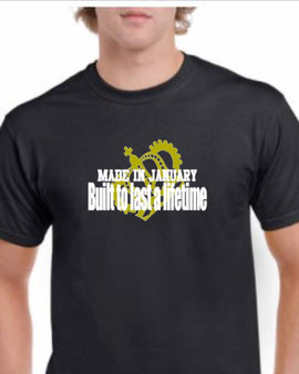 January Birthday Tee - Men