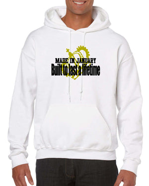 January Birthday Hoodie - Men
