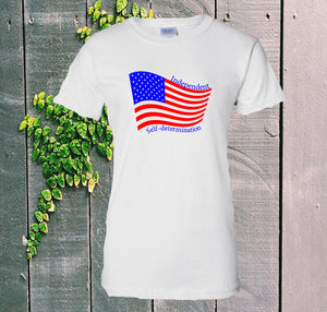 Patriotic - White T-Shirt