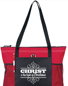 Christ is the Light of Christmas Tote