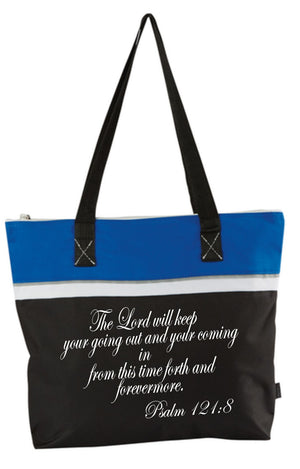 Psalm 121:8 Tote Bag