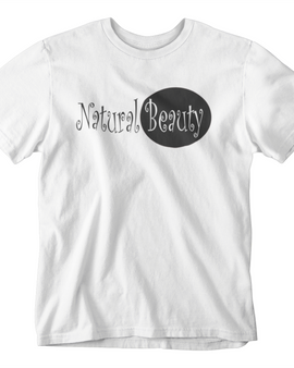 Natural Beauty Black Crew Neck T-Shirt