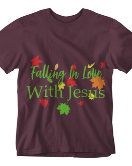 Falling in Love With Jesus T-Shirt/Hoodie