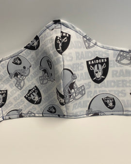Raiders Face Mask