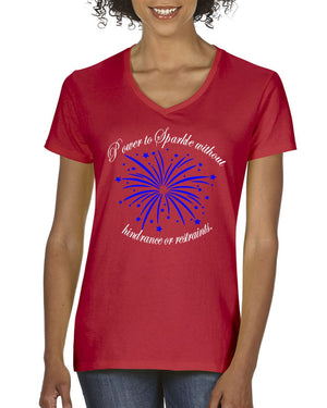 4th of July Patriotic - Red T-Shirt