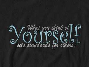 What You Think of Yourself Sets Standards for Others