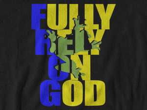 (F.R.O.G) Fully Rely on God Black Women's T-Shirt