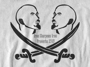 Mens Iron Sharpens Iron T-Shirt