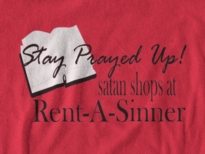 Rent-A-Sinner Tote Bag