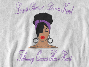February Birthday Long Sleeve Tee