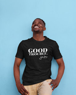 Good Trouble Black Tee
