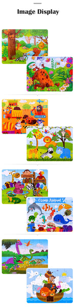 New 24 Pieces Animal Jigsaw Puzzle