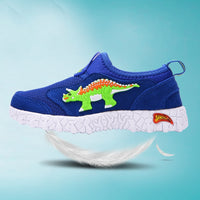 Dinosaur Slip-On Sneakers