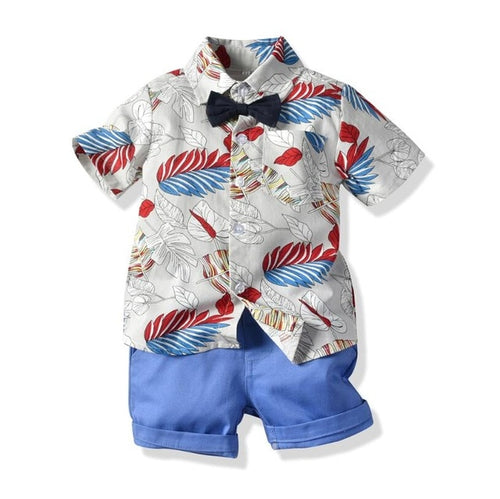 Summer Blues Boys Fashion Set