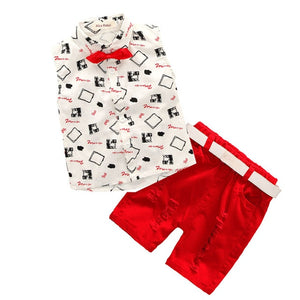 Fresh Spring Boys Fashion Set