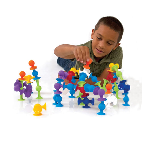 New Soft Building Blocks Silicone Construction Creative Toys